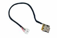 Разъем питания PJ400B для HP DV7-4000 DV6-3000 (7.4*5.0) 10 pin