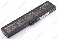 Батарея Asus M9,W7,A32-M9,A33-W7, 11,1V 4800mAh Black (M9V(Black) )