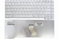 Клавиатура для ноутбука Acer Aspire 4220 4310 4520 4710 5220 5300 5320 5520 5700 5910 5920, белая, Оригинал (V072146AS1 UI)