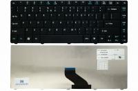 Клавиатура для ноутбука Acer Aspire E1-421 E1-431 E1-471 TravelMate 8371 8371G 8471 8471G, черная, US + Наклейки (MP-09G43U4-930 )