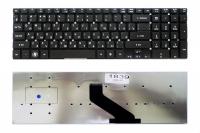 Клавиатура для ноутбука Acer Aspire 5755 5830 E1-522 E1-532 E1-731 V3-551 V3-731, черная без рамки, Прямой Enter (KB.I170G.310 )