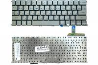 Клавиатура для ноутбука Acer Aspire S7-191, серая без рамки, Прямой Enter, Подсветка (MP-12A53SUJ4422 )
