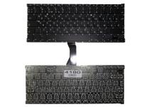 """Клавиатура Apple MacBook Air 13"""" A1369 A1466, черная без рамки, Г-образный Enter"""