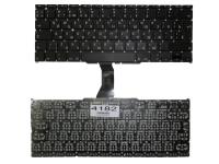 """Клавиатура Apple MacBook Air 11"""" A1370 A1465 MC505 MC506, черная без рамки, Г-образный Enter"""