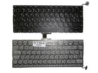 """Клавиатура Apple MacBook Pro 13"""" A1278, черная без рамки, Г-образный Enter"""
