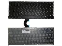 """Клавиатура Apple MacBook Pro 13"""" A1502, черная без рамки, Г-образный Enter"""