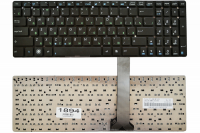 Клавиатура Asus A55V A75V K55V K75V F751M K751M X751M R500 R700V U57A, черная без рамки,Прямой Enter (AEKJB700010 )