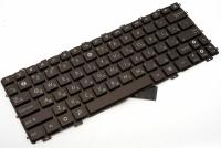 Клавиатура Asus Eee PC 1011 1015 1018 X101, коричневая без рамки, Прямой Enter