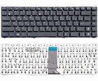 Клавиатура Asus Eee PC 1201 1215 1225, черная без рамки, Прямой Enter, Original (9J.N2K82.20R )
