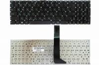 Клавиатура Asus X501 X502  X552 F550 F552 R505 V550 R510 R513, черная без рамки, Прямой Enter