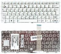 Клавиатура Asus Eee PC 1011 1015 1018 X101, белая без рамки, Г-образный Enter