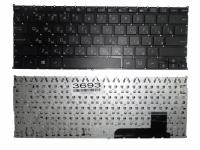 Клавиатура Asus X201 X201E X202 X202E S200, черная без рамки, Прямой Enter