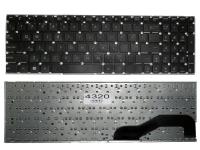 Клавиатура Asus X540, A540, D540, F540, K540, R540, черная без рамки, PWR, Прямой Enter