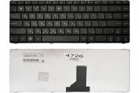 Клавиатура Asus UL30 UL30A UL80 A42 K42 K42D K42F K42J K43 N82 X42 A43 N43 X43, черная, Оригинал (V090462BK1 )