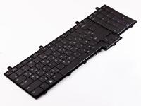 Клавиатура Dell Inspiron 1747 1750, черная (0M7MRH )