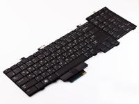 Клавиатура Dell Precision M6400, черная, PointStick, Подсветка (0D119R )