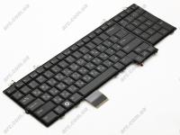 Клавиатура Dell Studio 1735 1736 1737, черная, Подсветка (0GY332 )