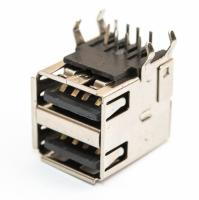 Разъем USB 2.0 2A-03 double (13х14х17мм) in board