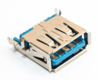 Разъем USB 3.0 single (13х5х15мм) straight 9pin (J004 )