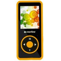mp3 плеер Reellex UP-48 4GB Black/Orange (UP-48 Black/Orange)