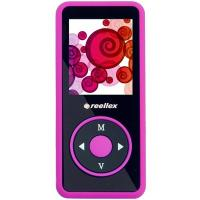 mp3 плеер Reellex UP-48 4GB Black/Pink (UP-48 Black/Pink)