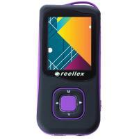 mp3 плеер Reellex UP-47 4GB Black/Violet (UP-47 Black/Violet)