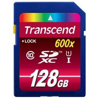 Карта памяти Transcend 128Gb SDXC class 10 UHS-I Ultimate (TS128GSDXC10U1)
