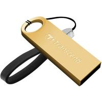 USB флеш накопитель Transcend 8Gb JetFlash 520 gold (TS8GJF520G)