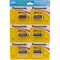 Батарейка PANASONIC AAA LR03 Alkaline Power * 12(плакат2*6) (LR03REB/2B12)
