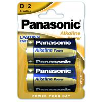 Батарейка PANASONIC LR20 PANASONIC Alkaline Power * 2 (LR20REB/2BP)