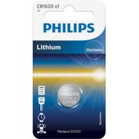 Батарейка PHILIPS CR1620 PHILIPS Lithium (CR1620/00B)