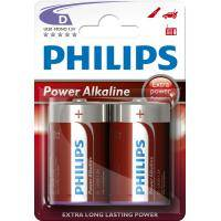 Батарейка PHILIPS LR20 PHILIPS PowerLife P2B * 2 (LR20P2B/97)