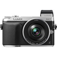 Цифровой фотоаппарат PANASONIC DMC-GX7 Kit 14-42mm Silver (DMC-GX7KEE-S)