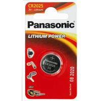Батарейка PANASONIC CR 2025 Lithium * 1 (CR-2025EL/1B)