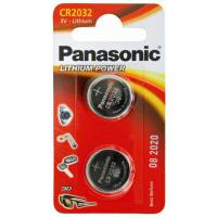 Батарейка PANASONIC CR 2032 Lithium * 1 (CR-2032EL/2B)