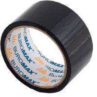 Скотч BUROMAX Packing tape 48мм x 35м х 43мкм, black (BM.7007-01)