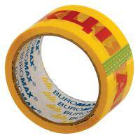 Скотч BUROMAX Packing tape 48мм x 45м х 40мкм, yellow