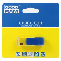USB флеш накопитель GOODRAM 8GB COLOUR UKRAINE Blue/Yellow USB 2.0 (UCO2-0080BYR11)