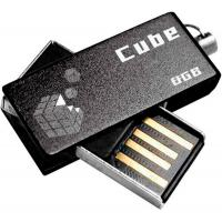 USB флеш накопитель GOODRAM 8GB Cube Black USB 2.0 (PD8GH2GRCUKR9)