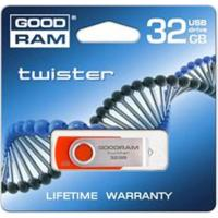 USB флеш накопитель GOODRAM 32GB Twister Red USB 2.0 (PD32GH2GRTSRR9)