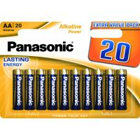Батарейка PANASONIC LR06 Alkaline Power * 20 (LR6REB/20BW)