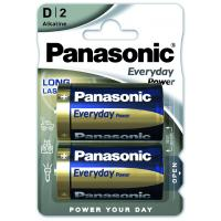 Батарейка PANASONIC D LR20 Everyday Power * 2 (LR20REE/2BR)