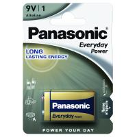Батарейка PANASONIC Крона 6LR61 Everyday Power * 1 (6LR61REE/1BR)