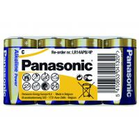 Батарейка PANASONIC C LR14 Alkaline Power (Shrink) * 4 (LR14REB/4P)