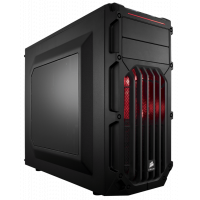 Корпус CORSAIR Carbide Series SPEC-03 RED LED (CC-9011052-WW)