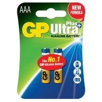 Батарейка GP AAA LR03 Ultra Plus Alcaline * 2 (GP24AUP-2UE2)