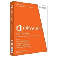 Офисное приложение Microsoft Office365 Home 5User 1Year Subscription Russian Medialess P2 (6GQ-00763)