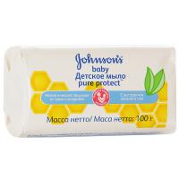 Детское мыло Johnson's Baby Pure Protect 100 г (3574661115122)