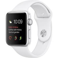 Смарт-часы Apple Watch Series 1, 42mm Silver Aluminium Case with White Band (MNNL2FS/A)