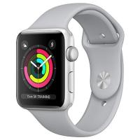 Смарт-часы Apple Series 3 GPS, 38mm Silver Aluminium Case with Fog Sport Band (MQKU2FS/A)